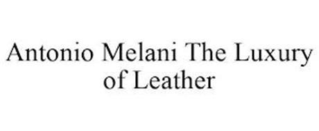 ANTONIO MELANI THE LUXURY OF LEATHER