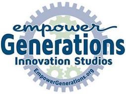 EMPOWER GENERATIONS INNOVATION STUDIOS EMPOWERGENERATIONS.ORG