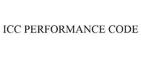 ICC PERFORMANCE CODE