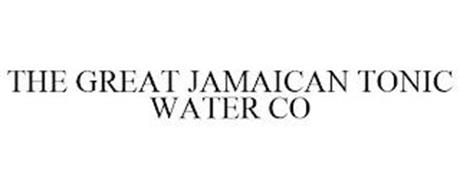 THE GREAT JAMAICAN TONIC WATER CO