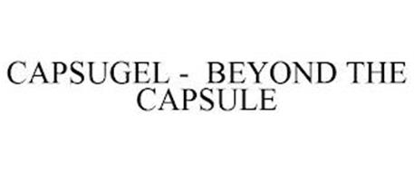 CAPSUGEL - BEYOND THE CAPSULE