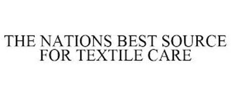 THE NATIONS BEST SOURCE FOR TEXTILE CARE