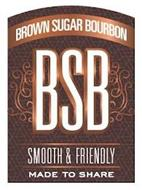BROWN SUGAR BOURBON BSB SMOOTH & FRIENDLY MADE TO SHARE