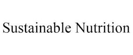SUSTAINABLE NUTRITION