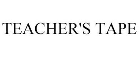 TEACHER'S TAPE