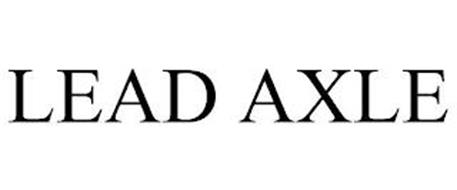 LEAD AXLE