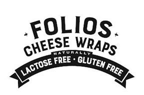 FOLIOS CHEESE WRAPS NATURALLY LACTOSE FREE GLUTEN FREE