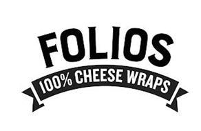 FOLIOS 100% CHEESE WRAPS