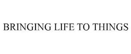 BRINGING LIFE TO THINGS