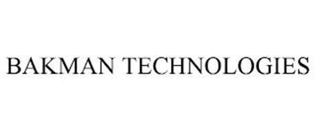 BAKMAN TECHNOLOGIES