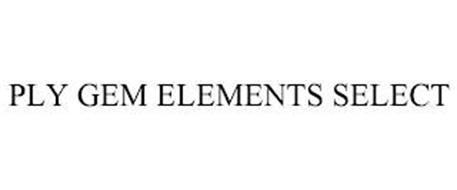 PLY GEM ELEMENTS SELECT