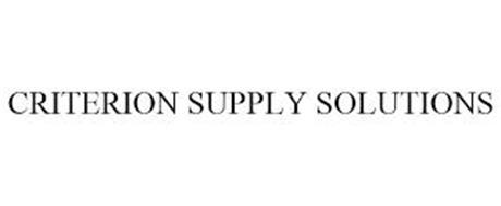 CRITERION SUPPLY SOLUTIONS