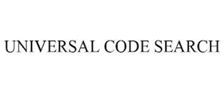 UNIVERSAL CODE SEARCH