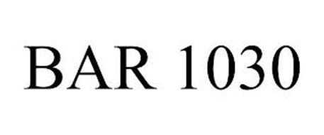 BAR 1030