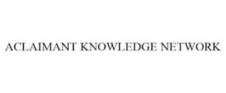 ACLAIMANT KNOWLEDGE NETWORK
