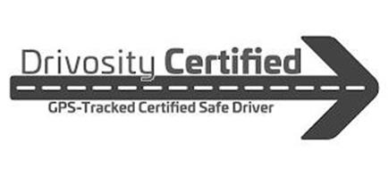DRIVOSITY CERTIFIED GPS-TRACKED CERTIFIED SAFE DRIVER