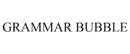 GRAMMAR BUBBLE