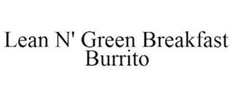 LEAN N' GREEN BREAKFAST BURRITO