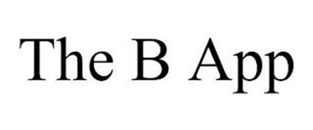 THE B APP