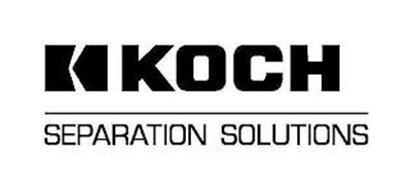 K KOCH SEPARATION SOLUTIONS