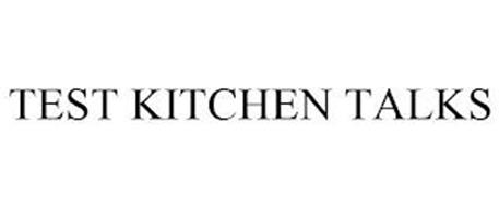 TEST KITCHEN TALKS
