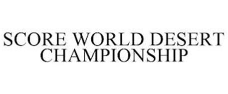 SCORE WORLD DESERT CHAMPIONSHIP