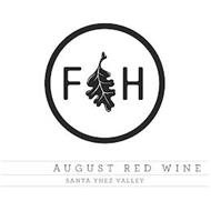 FH AUGUST RED WINE SANTA YNEZ VALLEY