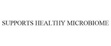 SUPPORTS HEALTHY MICROBIOME