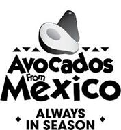AVOCADOS FROM MEXICO ALWAYS IN SEASON