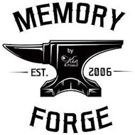 MEMORY FORGE EST. 2006 BY KIN & PEBBLE