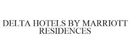DELTA HOTELS BY MARRIOTT RESIDENCES