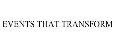 EVENTS THAT TRANSFORM