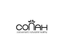 CONAH CONVENIENT, NATURAL & HEALTHY