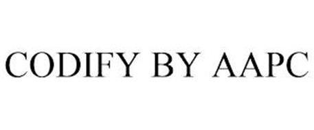 CODIFY BY AAPC