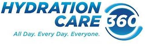 HYDRATION CARE 360 ALL DAY. EVERY DAY. EVERYONE.