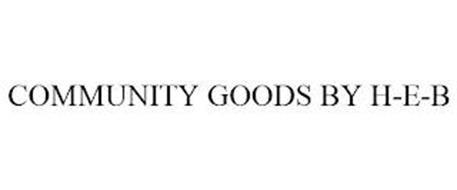 COMMUNITY GOODS BY H-E-B