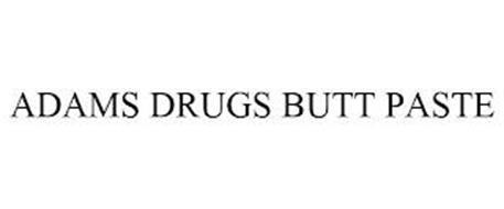 ADAMS DRUGS BUTT PASTE