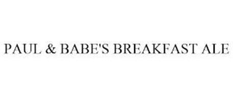 PAUL & BABE'S BREAKFAST ALE