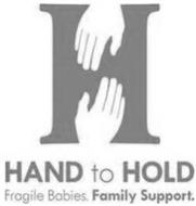 H HAND TO HOLD FRAGILE BABIES. FAMILY SUPPORT.