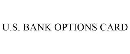 U.S. BANK OPTIONS CARD