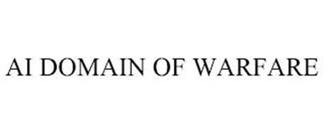 AI DOMAIN OF WARFARE