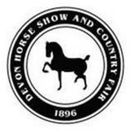 DEVON HORSE SHOW AND COUNTRY FAIR 1896