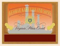 GEORGE KARELIAS AND SONS VIRGINIA PLAIN OVALS