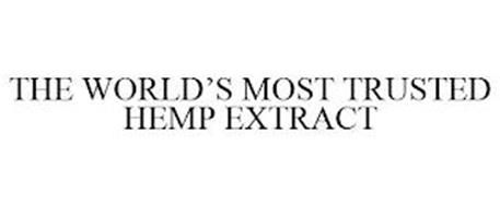 THE WORLD'S MOST TRUSTED HEMP EXTRACT