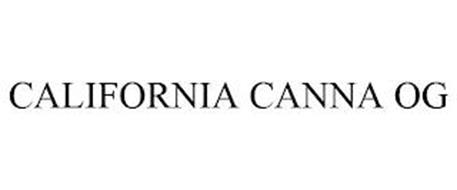 CALIFORNIA CANNA OG
