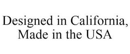 DESIGNED IN CALIFORNIA, MADE IN THE USA