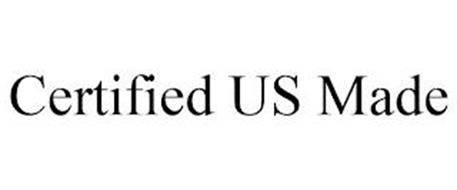 CERTIFIED US MADE