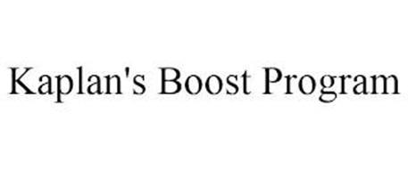 KAPLAN'S BOOST PROGRAM