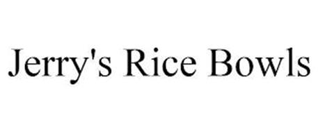 JERRY'S RICE BOWLS