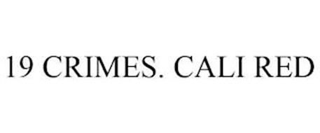 19 CRIMES. CALI RED